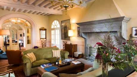 Rusticae Italia Toscana Hotel Borgo Pignano rural salon