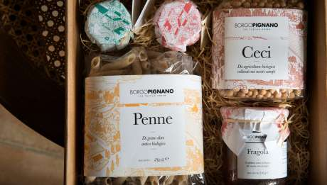 Rusticae Italia Toscana Hotel Borgo Pignano con encanto detalle