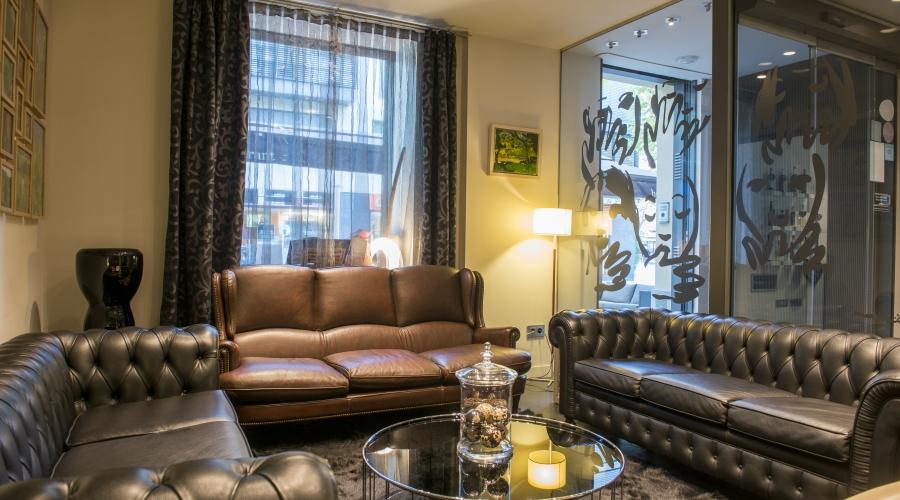 Rusticae Hotel Girona Gerona con encanto Recibidor
