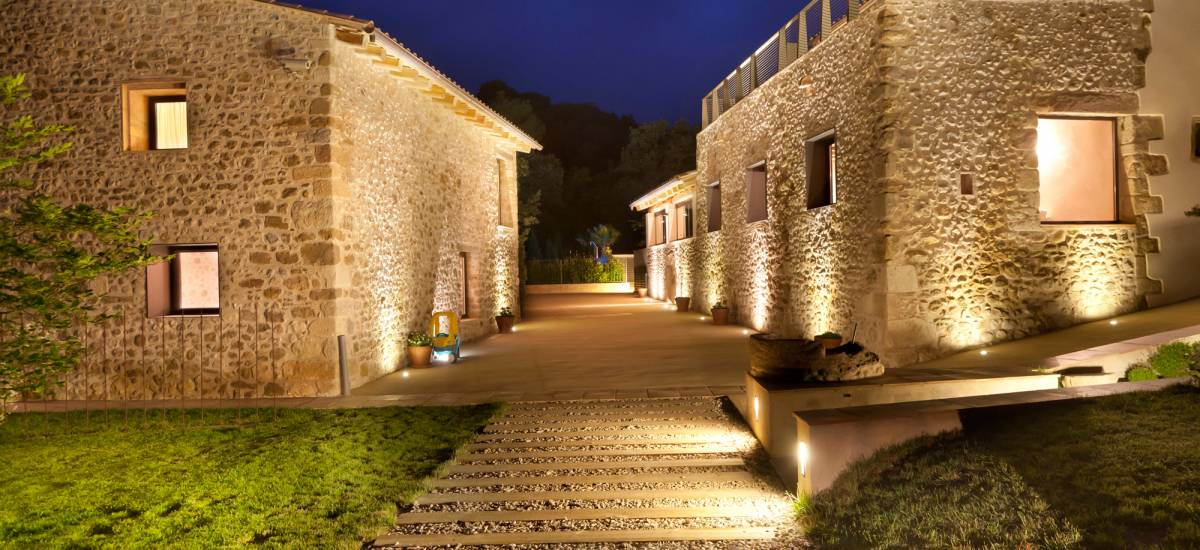 Rusticae charming Hotel Can Clotas Girona Gerona outside