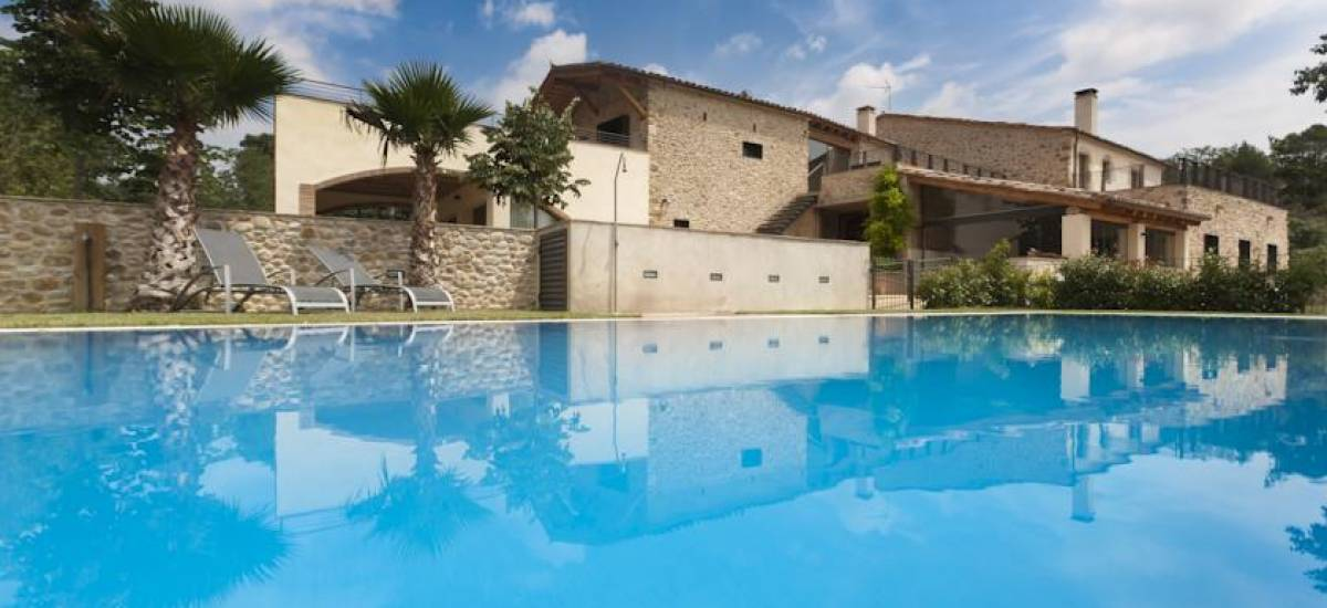 Rusticae charming Hotel Can Clotas Girona Gerona swimming pool