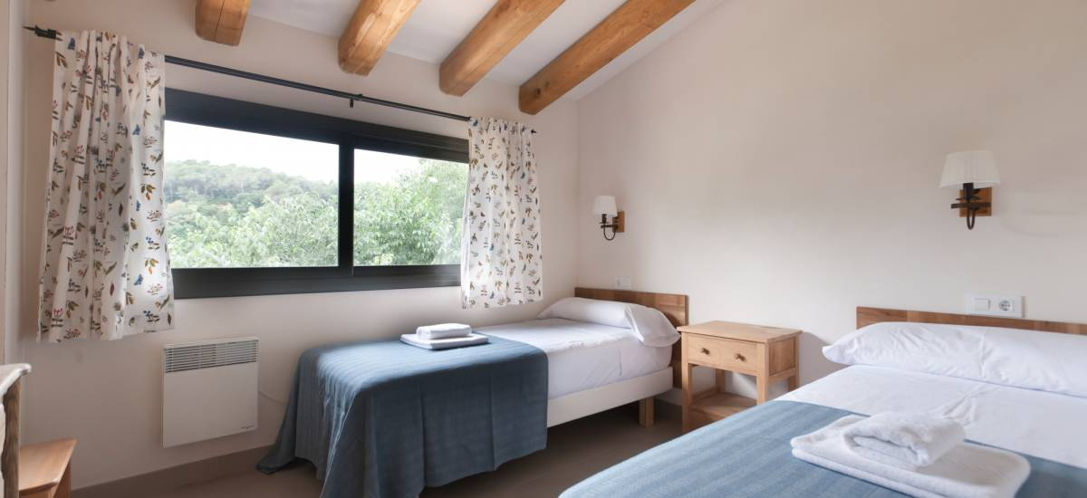 Rusticae charming Hotel Can Clotas Girona Gerona bedroom