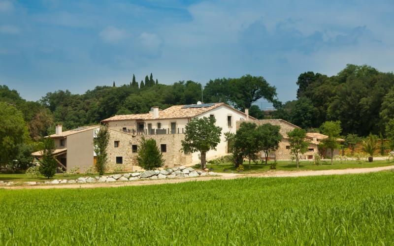 Hotel Can Clotas en Cistella Girona Jardin Hotel Can Clotas