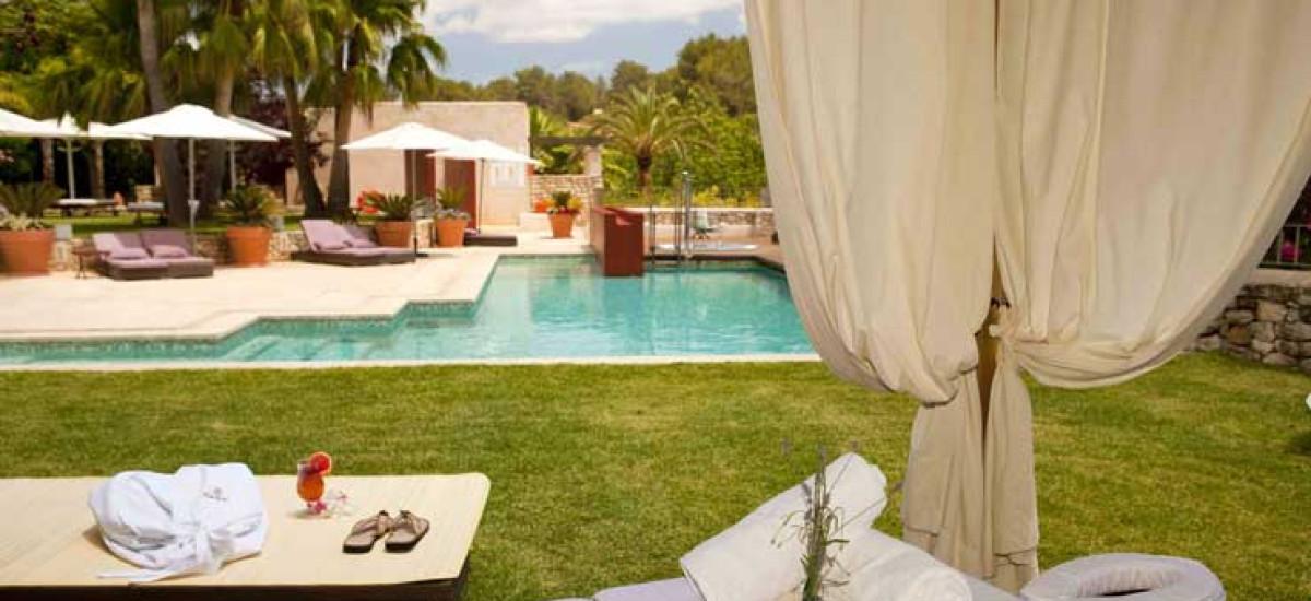 Rusticae Ibiza Hotel charming Can Lluc  swimming pool