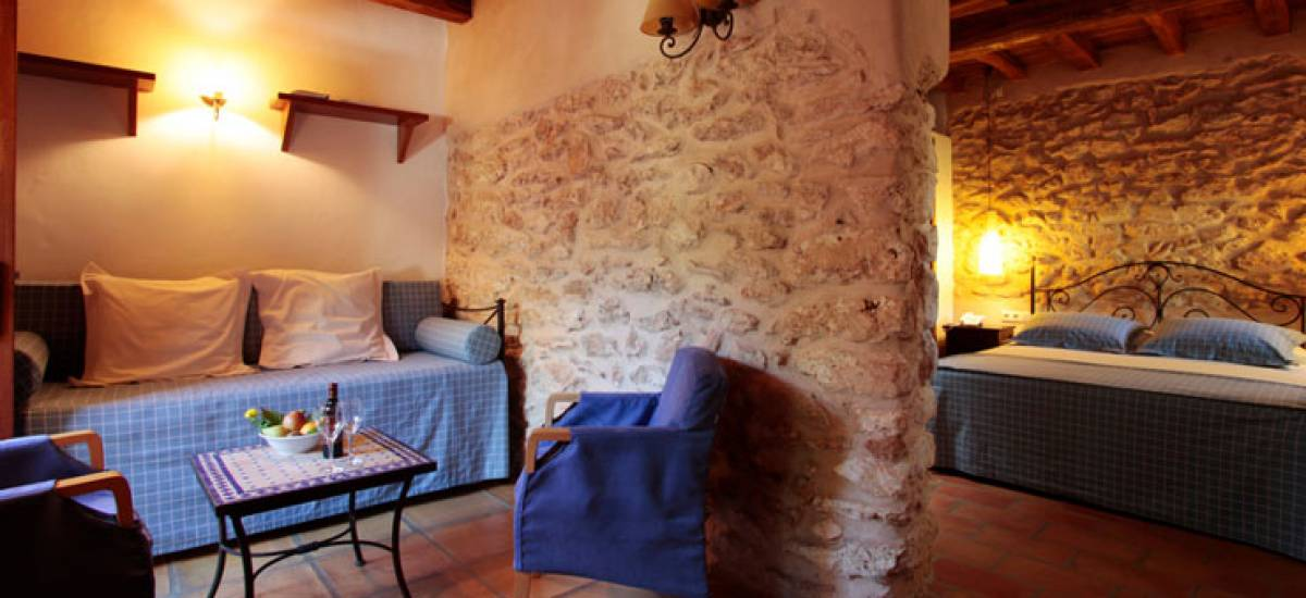 Rusticae Ibiza Hotel charming Can Lluc bedroom