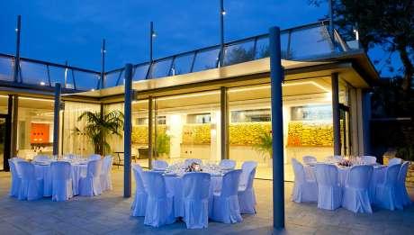 Rusticae Ibiza Hotel con encanto Terraza Comedor