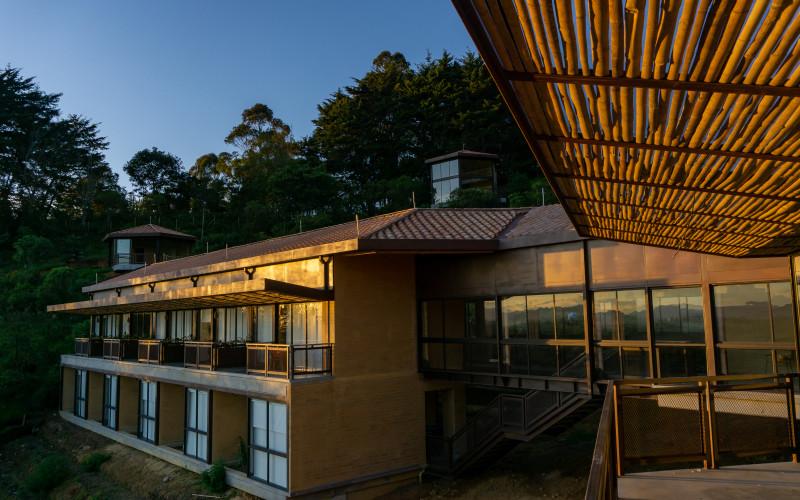 Hotel Cannúa Lodge en Marinilla garden Hotel Cannúa