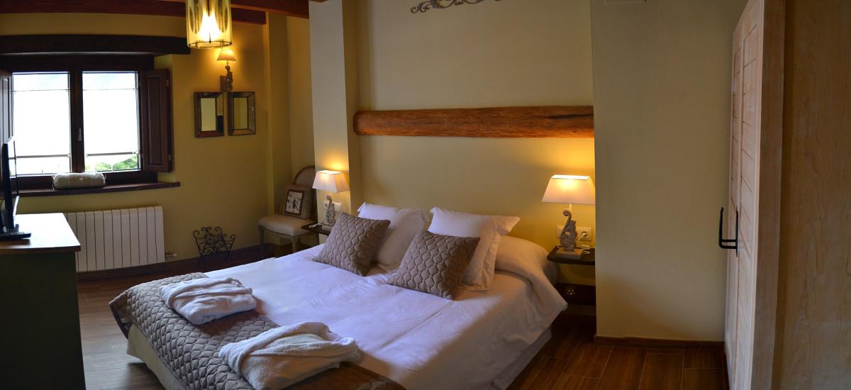 Casa Rural de Alquiler Completo Alba D'Esteve Habitación