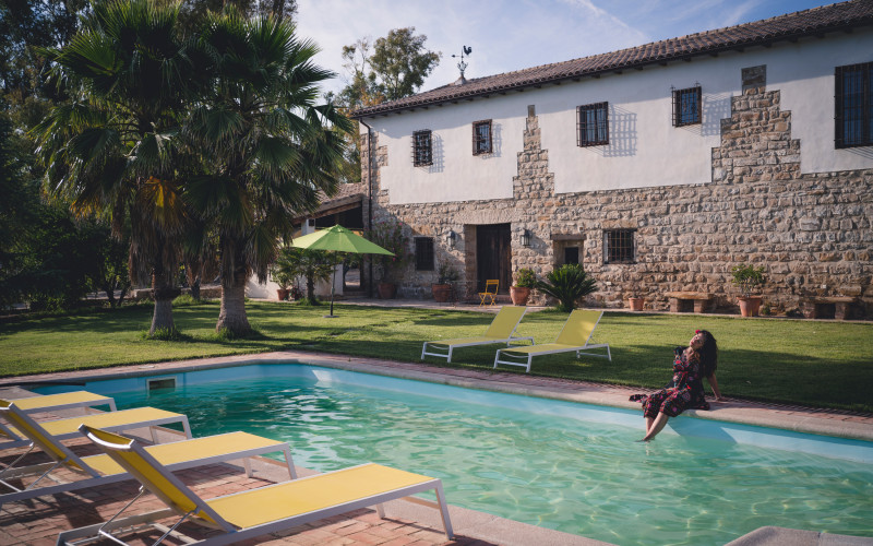 House Full Rental Cortijo Montano swimming pool