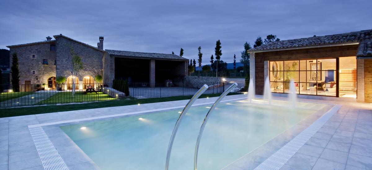 Cirera Dávall Casa Alquiler completo Rural Garden Pool