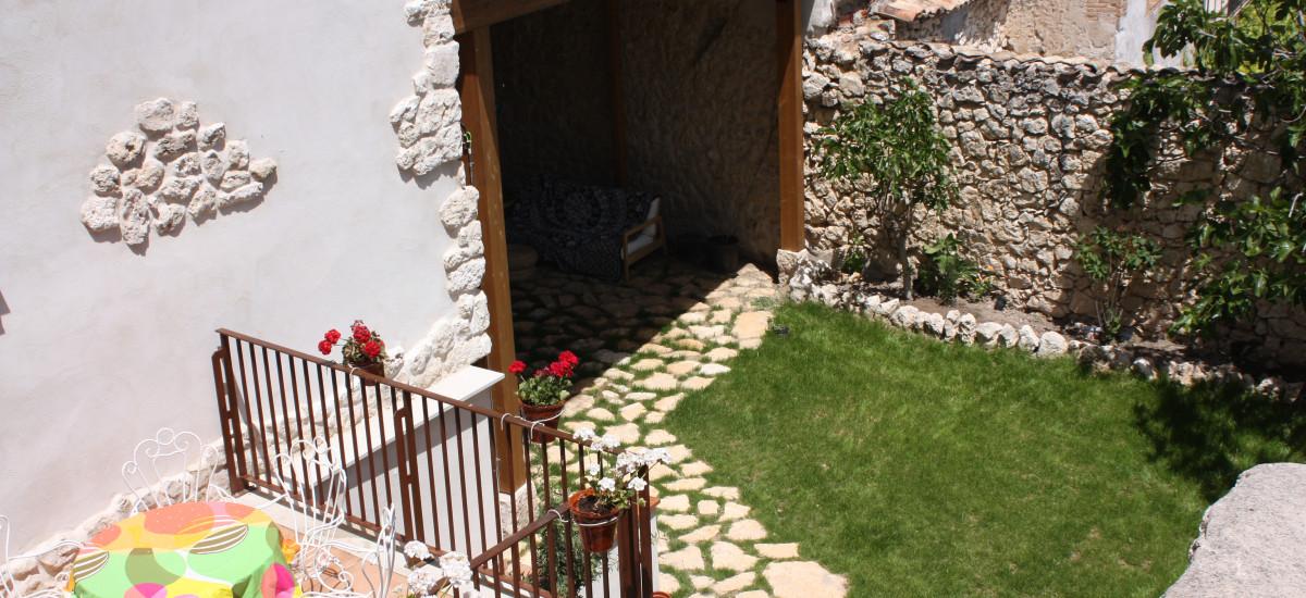 Rusticae Segovia Hotel Casa de Laura con encanto Jardín