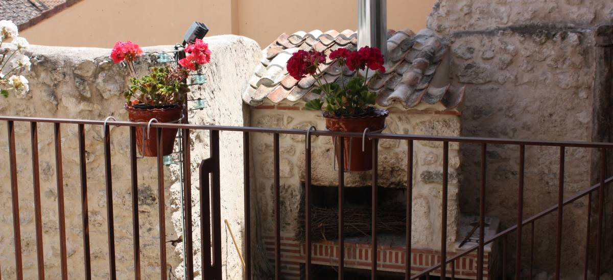 Rusticae Segovia Hotel Casa de Laura romantic terrace