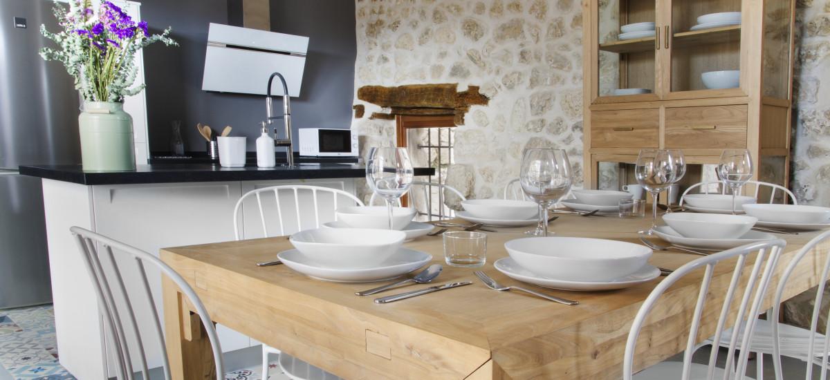 Rusticae Segovia Hotel Casa de Laura romantic dining room