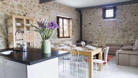 Rusticae Segovia Hotel Casa de Laura romantico Salón