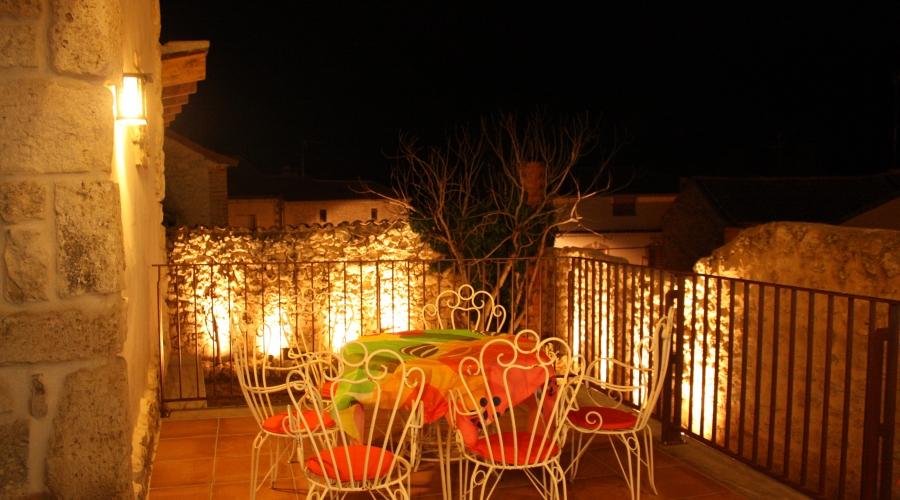 Rusticae Segovia Hotel Casa de Laura con encanto Terraza