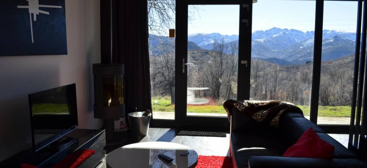 El Capricho de Gredos Casa Rural alquiler completo Rusticae salo