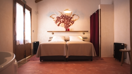 Rusticae Murcia Casa Alquiler Casa del Labrador rural habitación