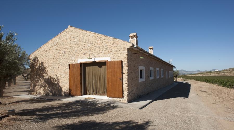 Rusticae Murcia Casa Alquiler Casa del Labrador rural exterior