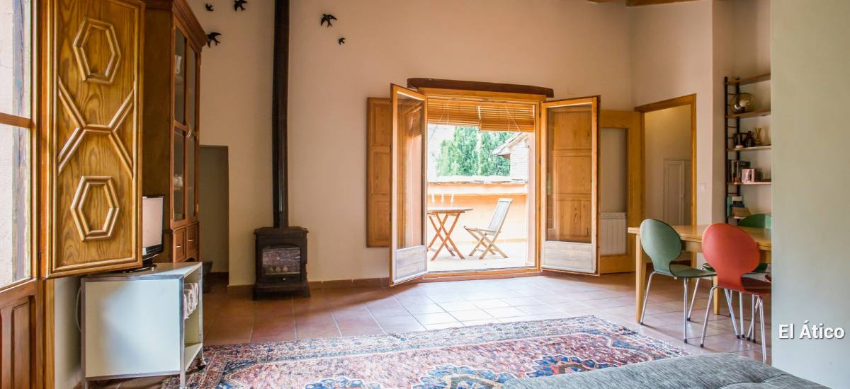 Casa Rural de Alquiler Completo La Casa de Los Moyas