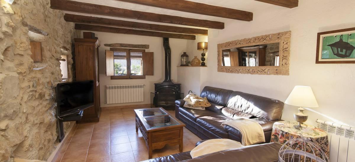 Rusticae Castellón Casa Rural con chimenea La Covarxella