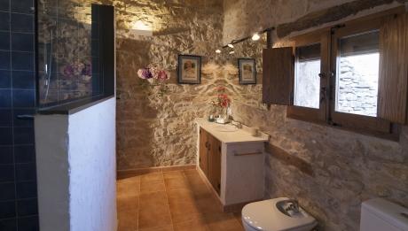 Rusticae Castellón escapada rural La Covarxella baño
