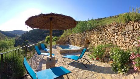 Rusticae Castellon Casa Alquiler Completo La Covarxella terraza