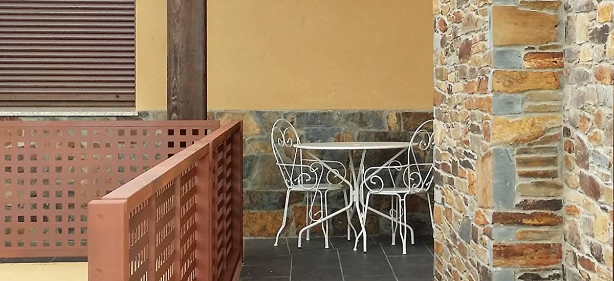 Rusticae Zamora house renting La Galana charming terrace