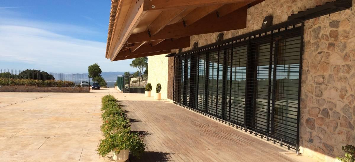 Mas Vidal full rental house Mas Vidal Entrance Garden