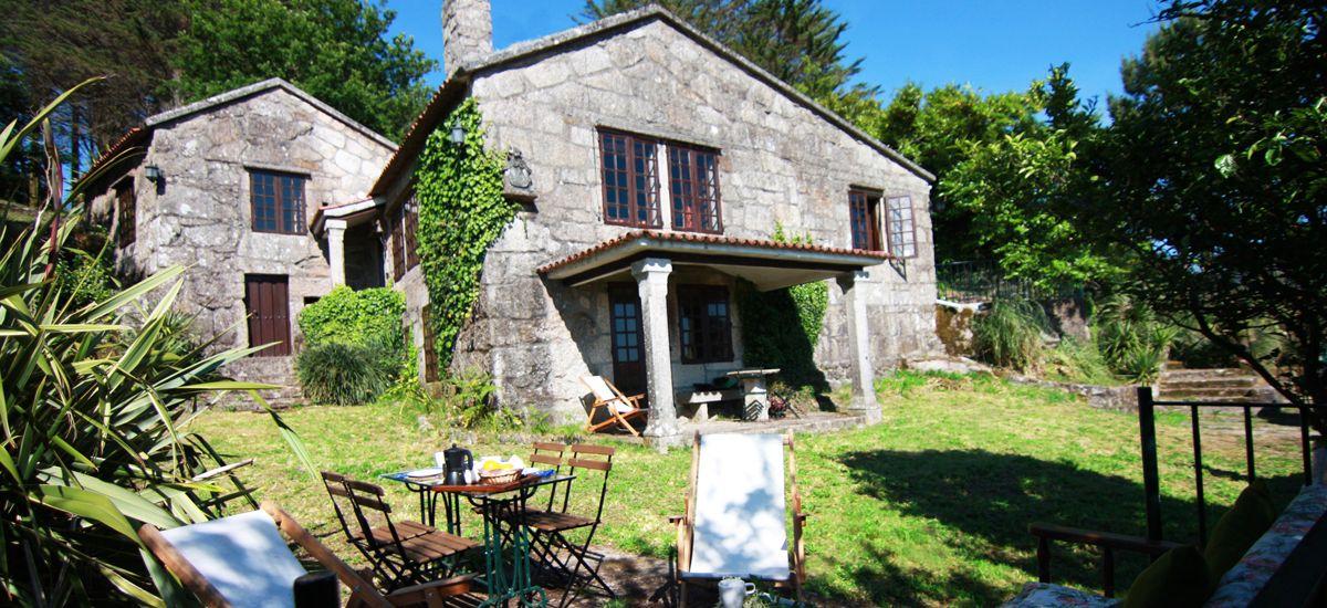 Te cuento 3 Xesteira Rural Home en Cotobade Pontevedra Garden