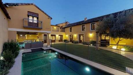 Villa Cornelius Casa Rural en Las Herencias Toledo piscina