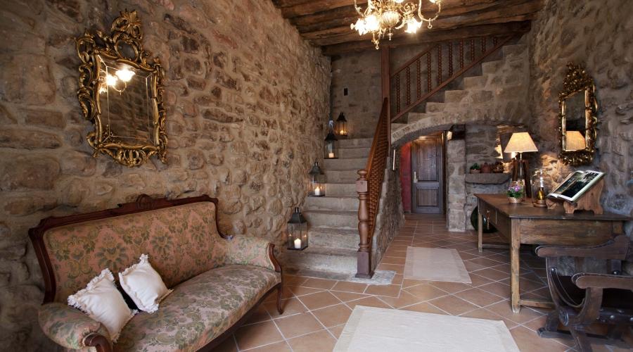 Rusticae Lleida Hotel con encanto Recibidor