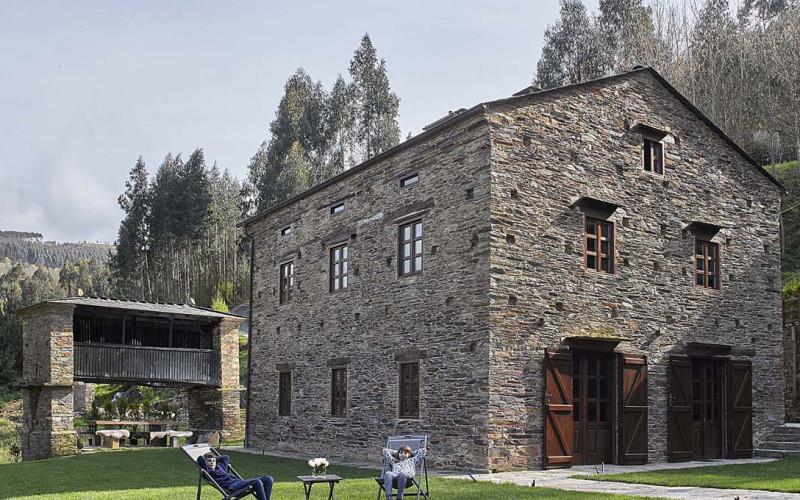 Casona de Labrada Casa Rural Lugo Casona de Labrada Jardin