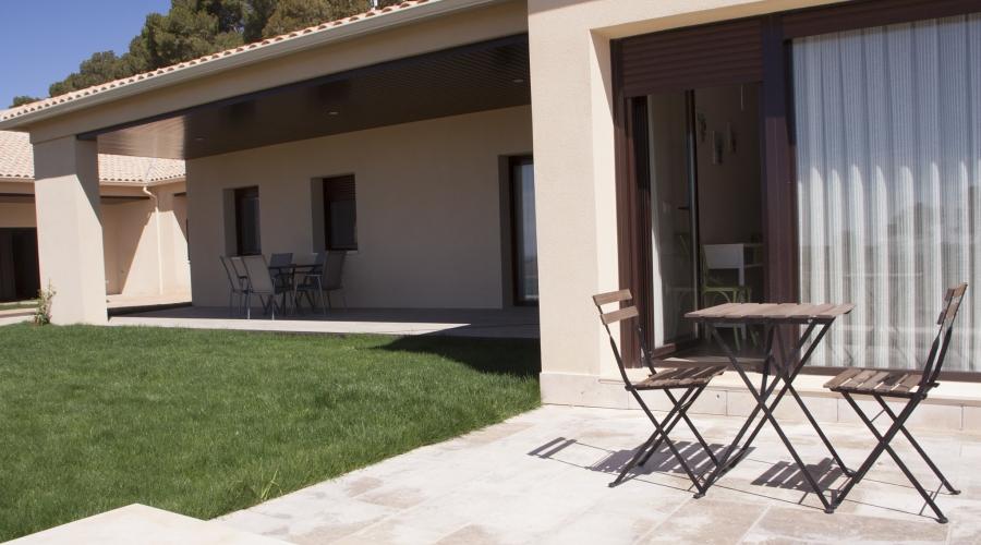 Rusticae Toledo Hotel Monte Higueras en familia terraza