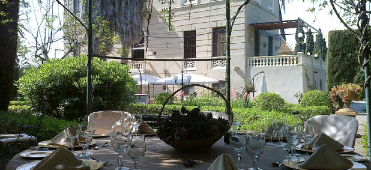 Rusticae charming Hotel Granada terrace