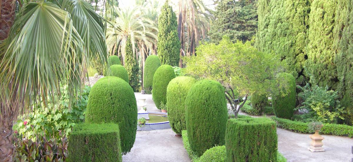 Rusticae charming Hotel Granada garden