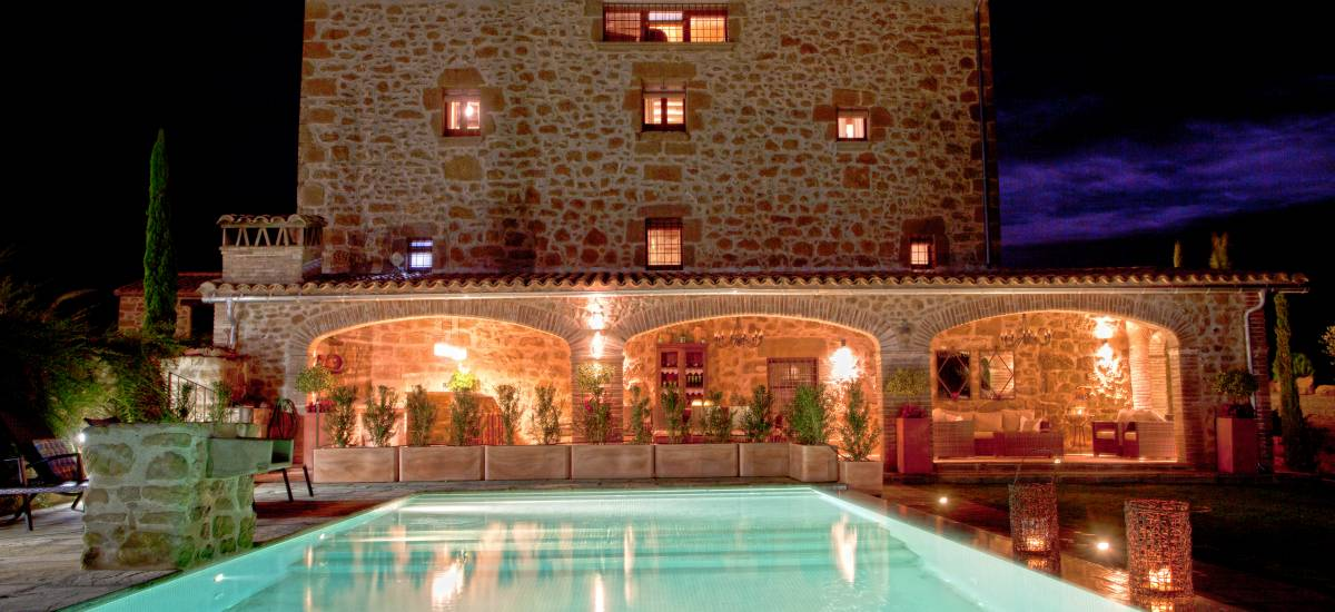 Rusticae Lleida Hotel charming swimming pool