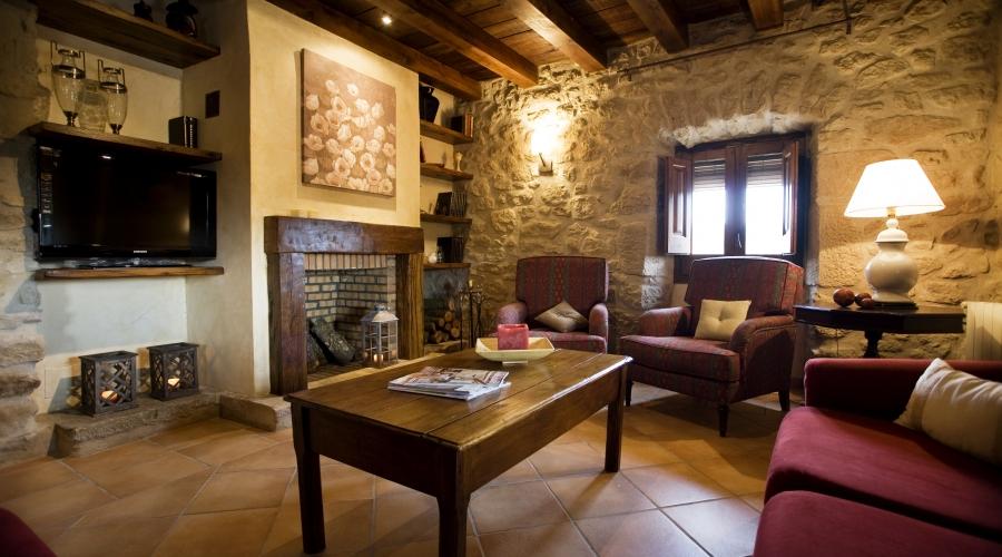 Rusticae Lleida Hotel con encanto Salón