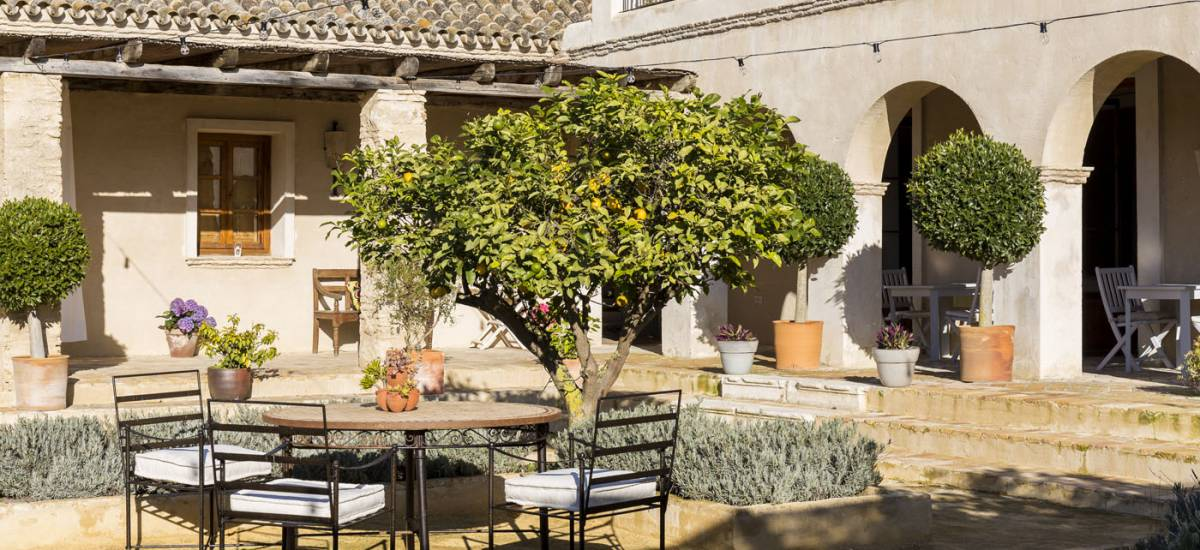 Rusticae Cádiz Hotel con encanto Terraza