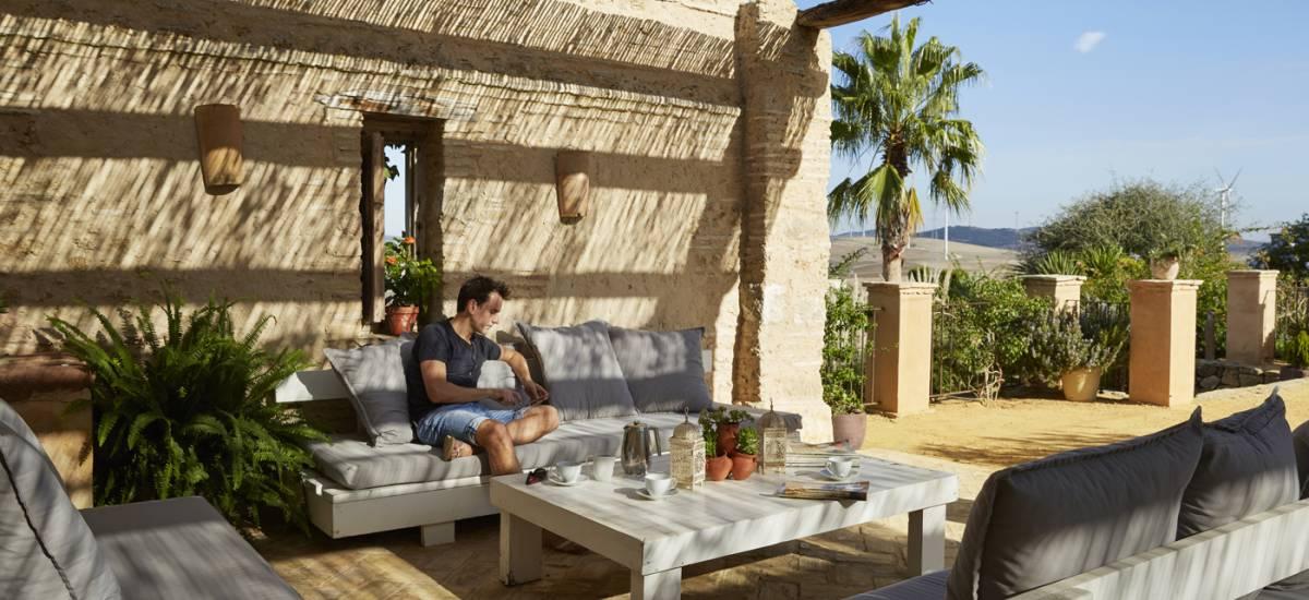 Rusticae Cádiz  charming hotel terrace
