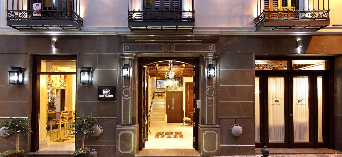 Rusticae Hotel Granada con encanto Entrada