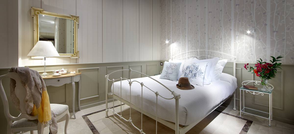 Rusticae Hotel Granada con encanto Habitación