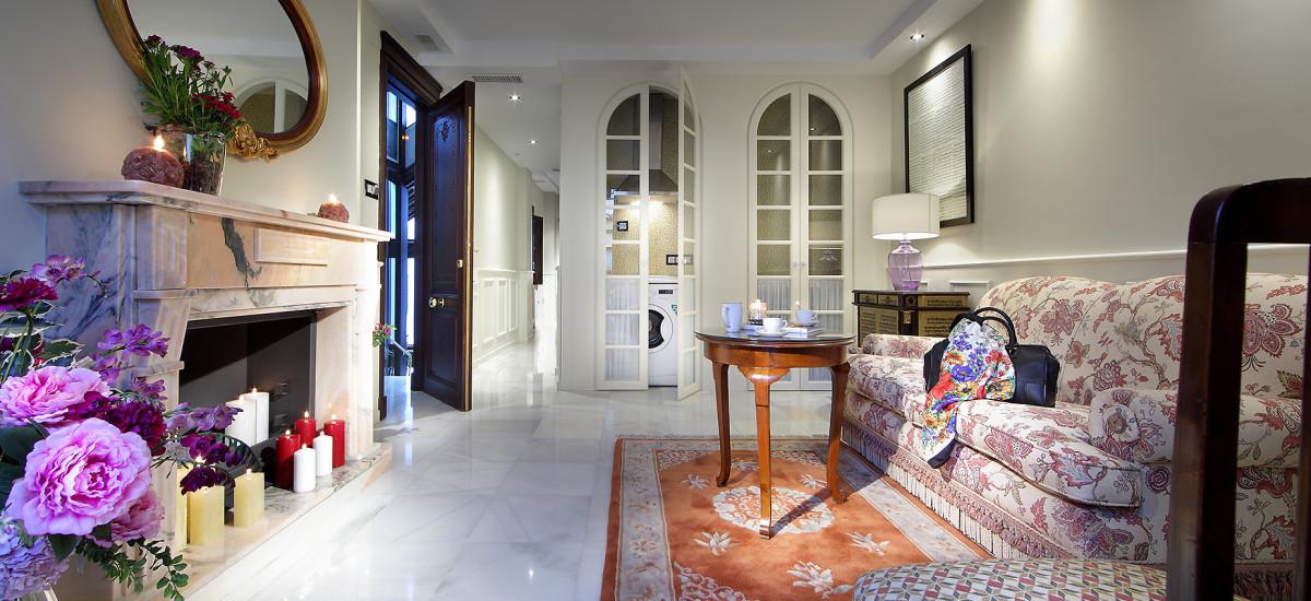 Rusticae Hotel Casa Palacete 1822 Granada salon