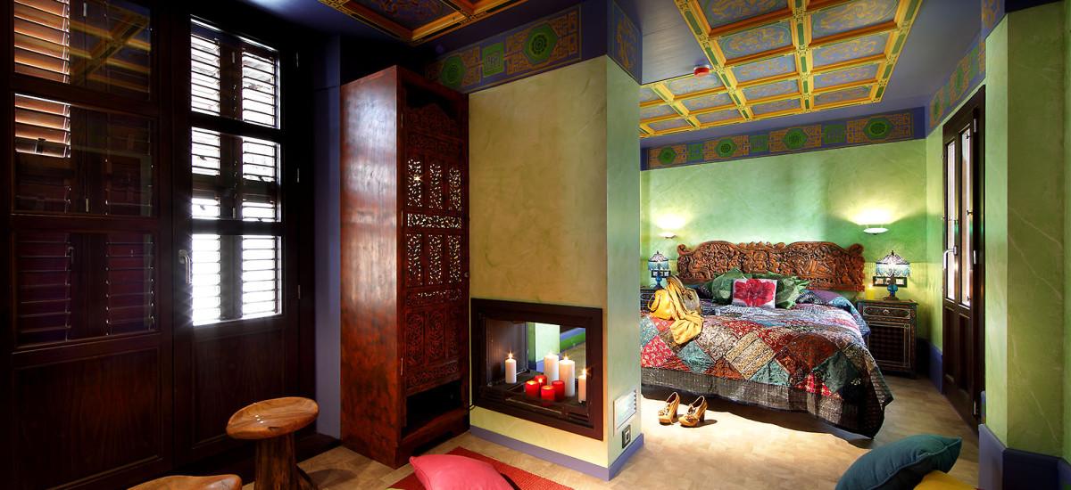 Rusticae Hotel Casa Palacete 1822 Granada habitacion