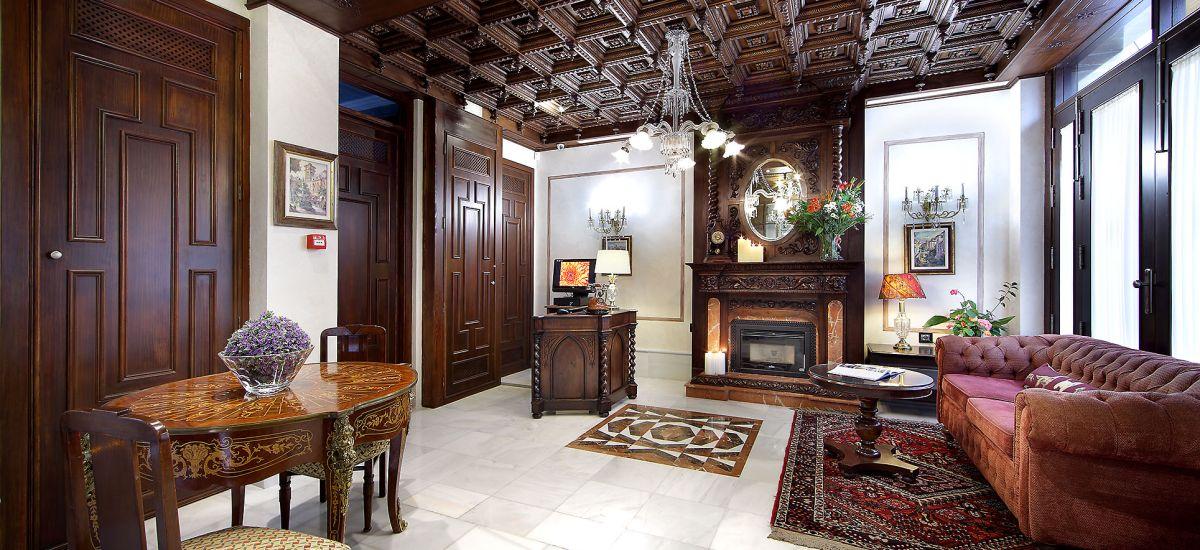 Rusticae charming Hotel Casa Palacete 1822 Granada hall