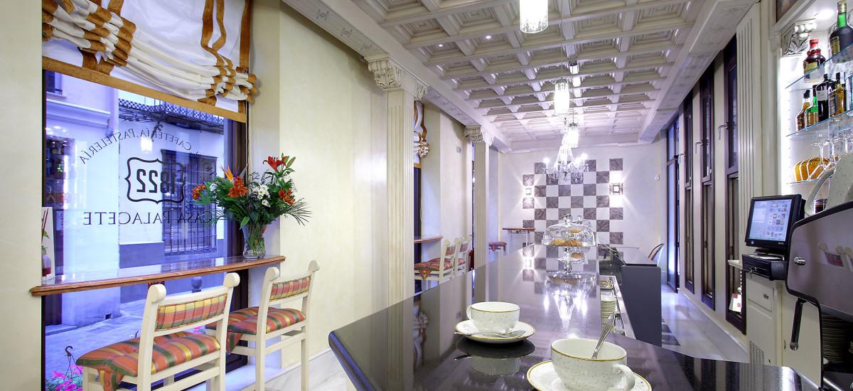 Rusticae Hotel Granada con encanto Cafetería