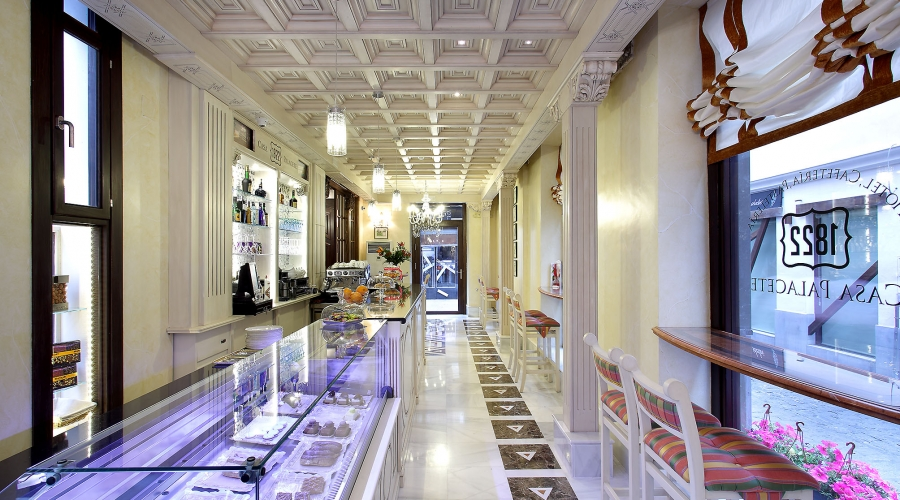 Rusticae Hotel Casa Palacete 1822 Granada cafeteria