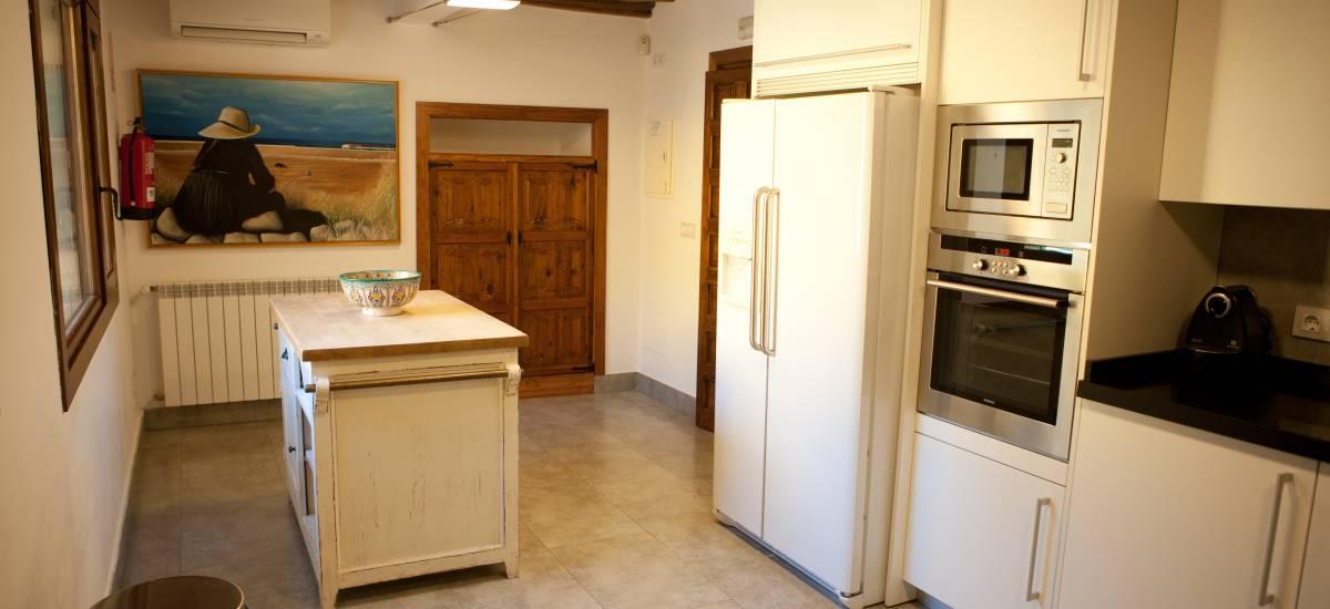 Rusticae Toledo Hotel Villa Cornelius para niños cocina