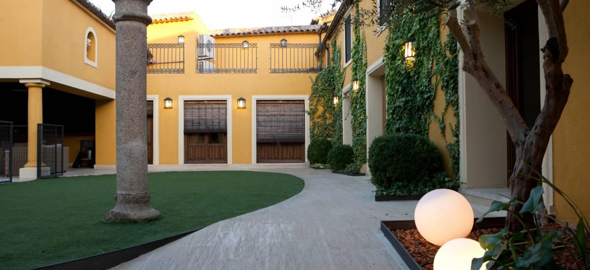 Rusticae Toledo Hotel Villa Cornelius romantic garden