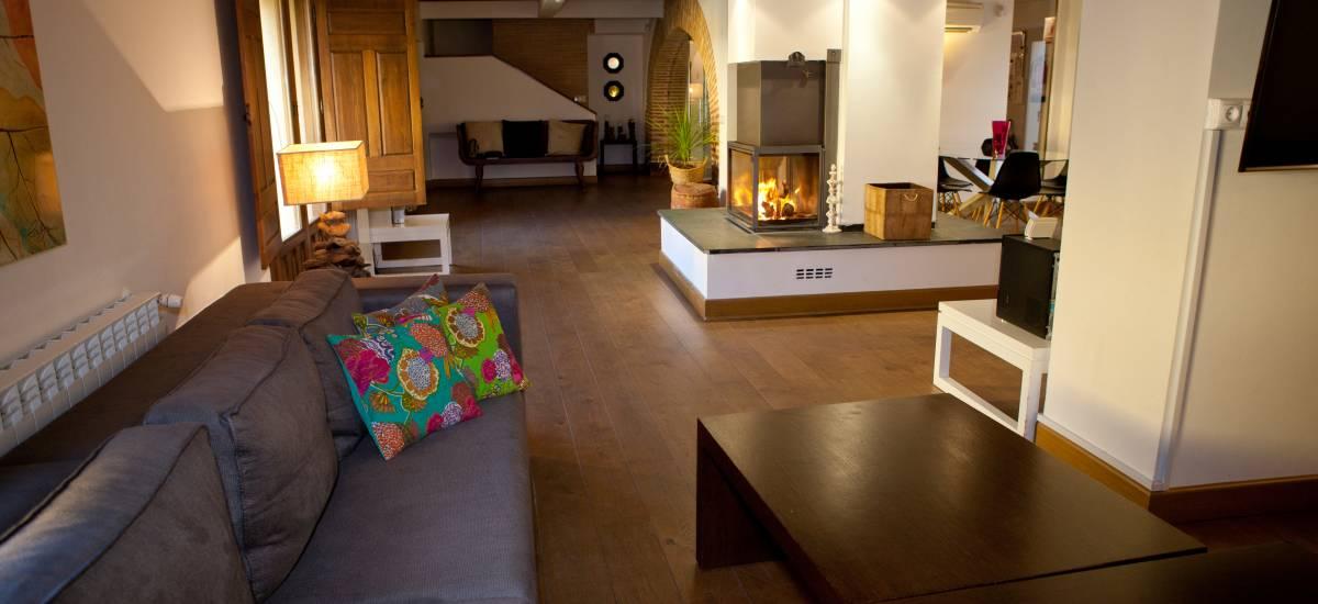 Rusticae Toledo Hotel Villa Cornelius romantic living room