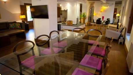 Rusticae Toledo Hotel Villa Cornelius para niños comedor